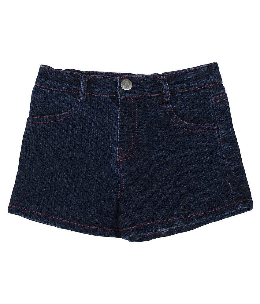 Addyvero Blue Denim Shorts