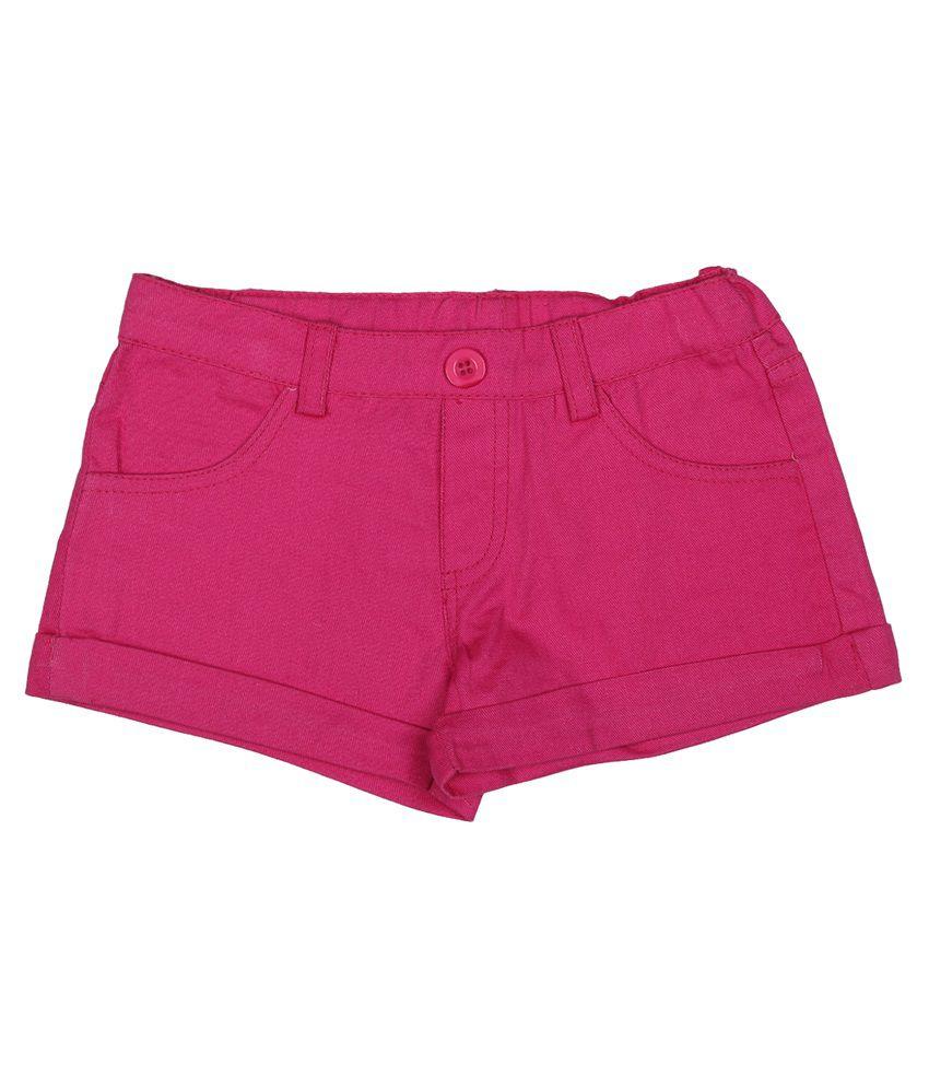 Addyvero Pink Denim Shorts