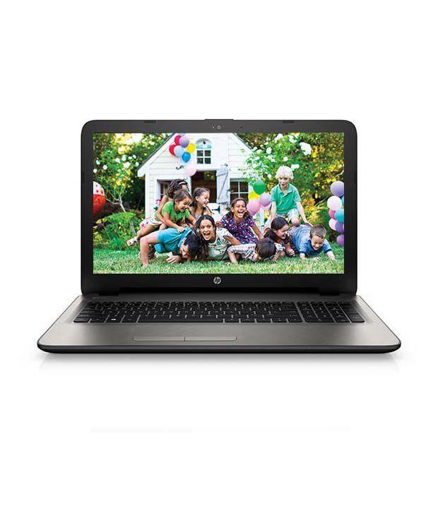 HP 15-ac033TX Notebook (M9V13PA) (5th Gen Intel Core i5-4GB RAM- 1TB HDD- 39.62 cm (15.6)- Windows 8.1- 2GB Graphics) (Silver)