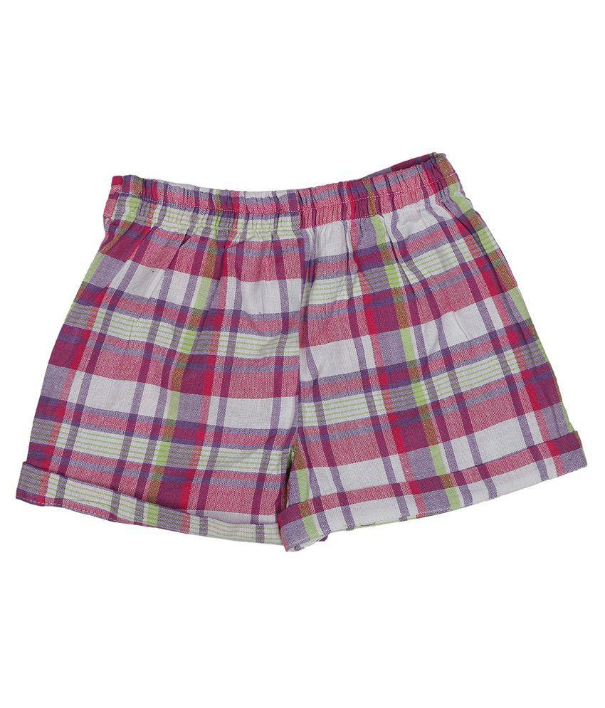 Addyvero Multicolor Denim Shorts