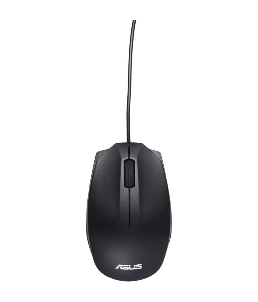 Asus UT 280 Wired Optical Mouse - Black