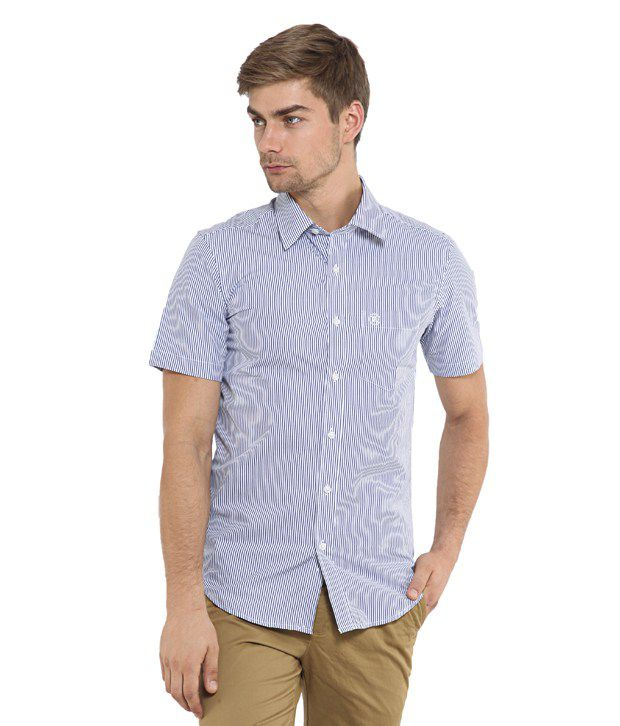 fbee7ceb4 Classic Polo Purple Cotton Formal Shirt - Buy Classic Polo Purple Cotton  Formal Shirt Online at Best Prices in India on Snapdeal