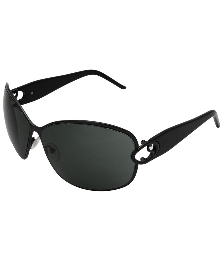 IRYZ Olive Bug Eye Sunglasses for Women with Free Leatherette Case
