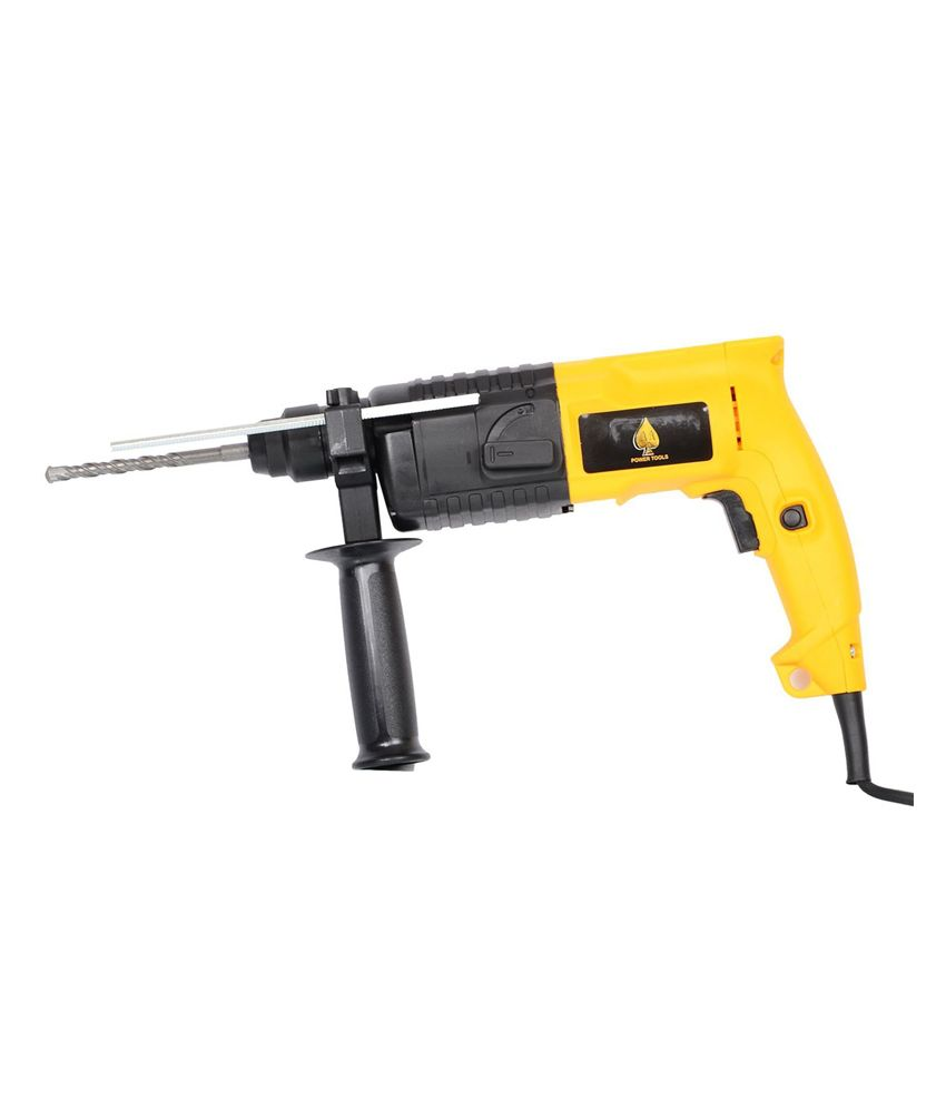 AA ASV-220 Steel Rotatory Hammer Yellow