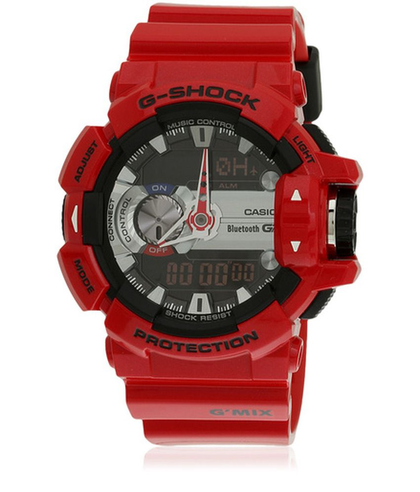 Casio G-Shock GBA-400-4ADR (G559) Bluetooth Men s Watch - Buy Casio G-Shock  GBA-400-4ADR (G559) Bluetooth Men s Watch Online at Best Prices in India on  ... 94eecca5a186