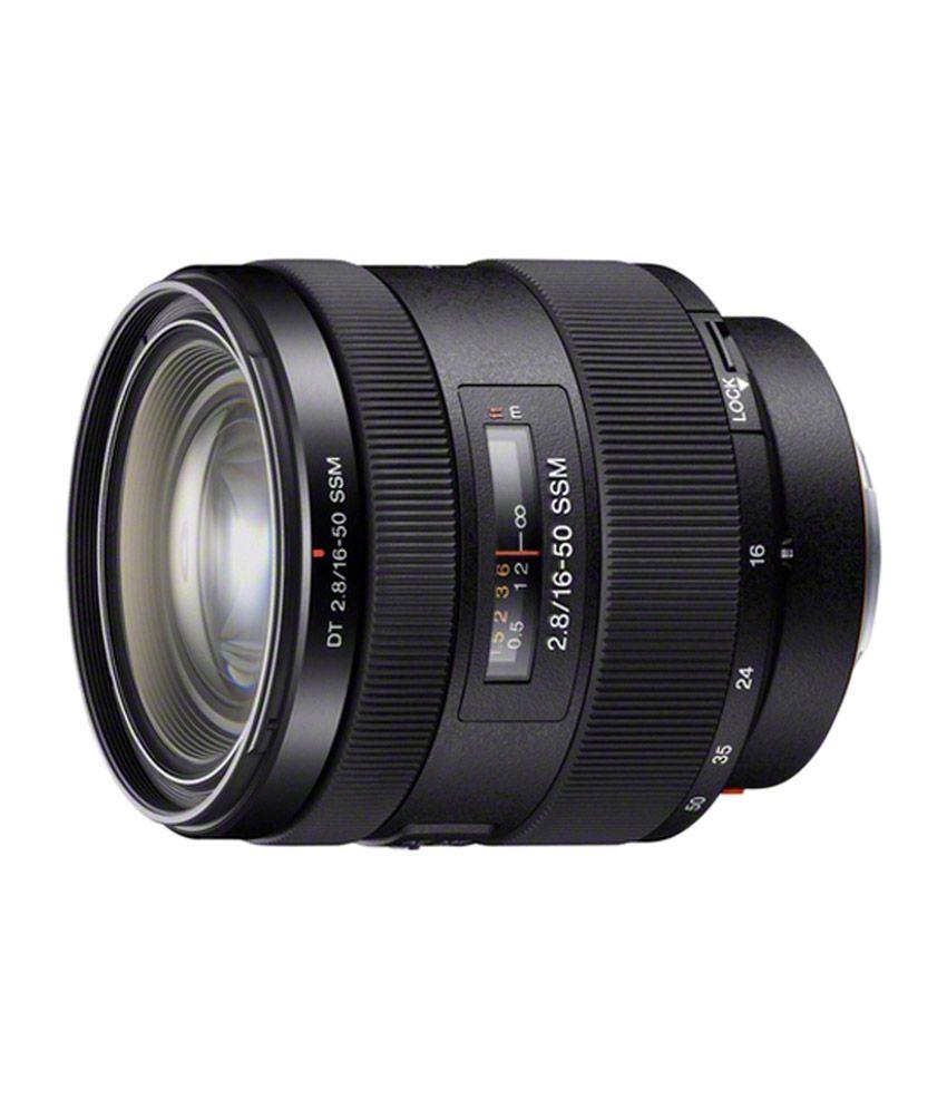 Sony DT 16-50 mm F2.8 SSM Zoom Lens