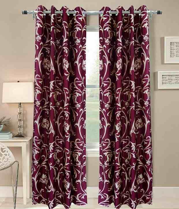 idecor set of 4 window eyelet curtains buy idecor set of