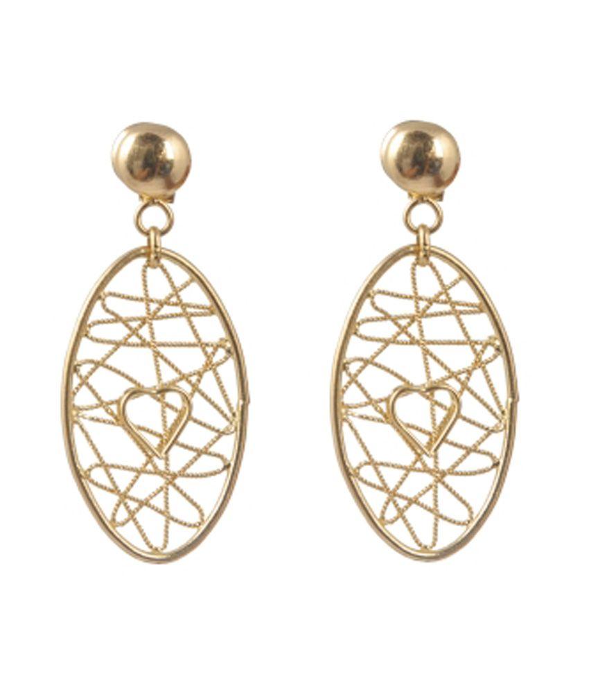 Jewelegance Modern 22kt Gold Earrings