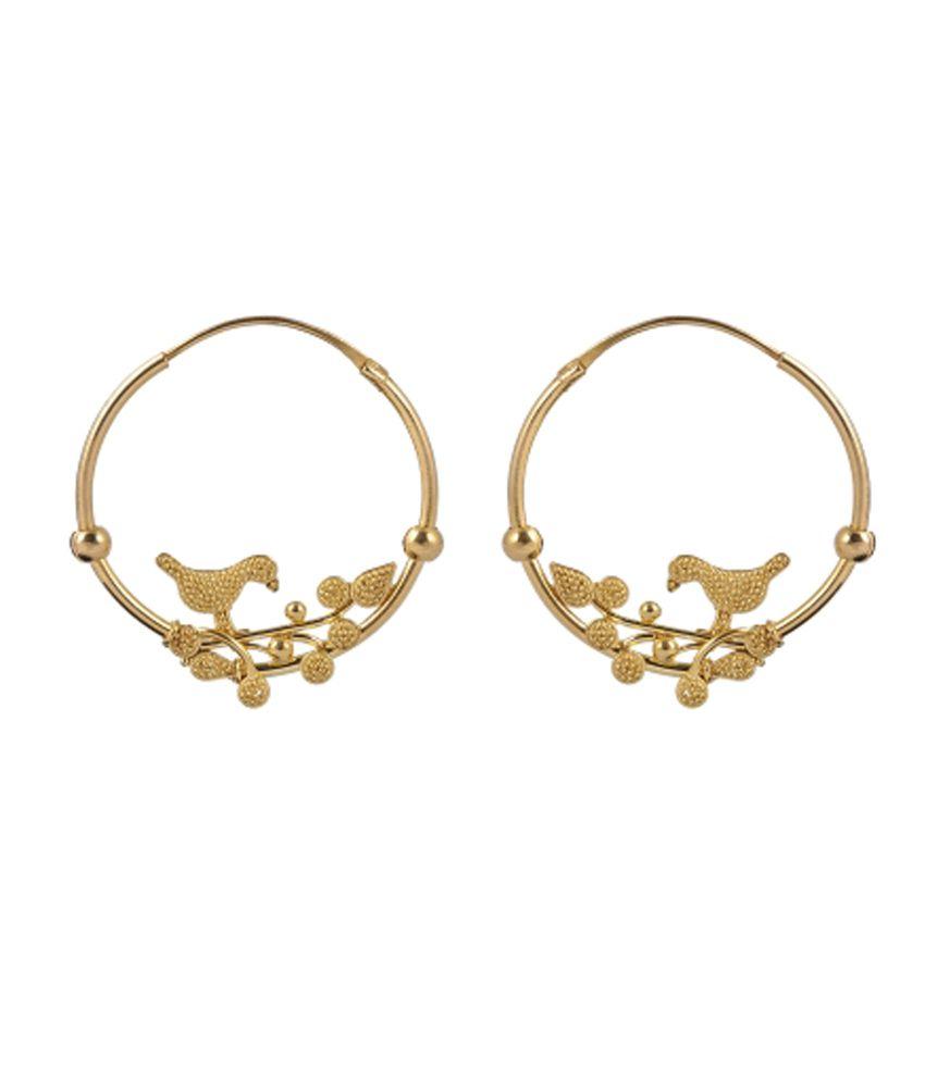 Jewelegance Handmade 22Kt Gold Earrings