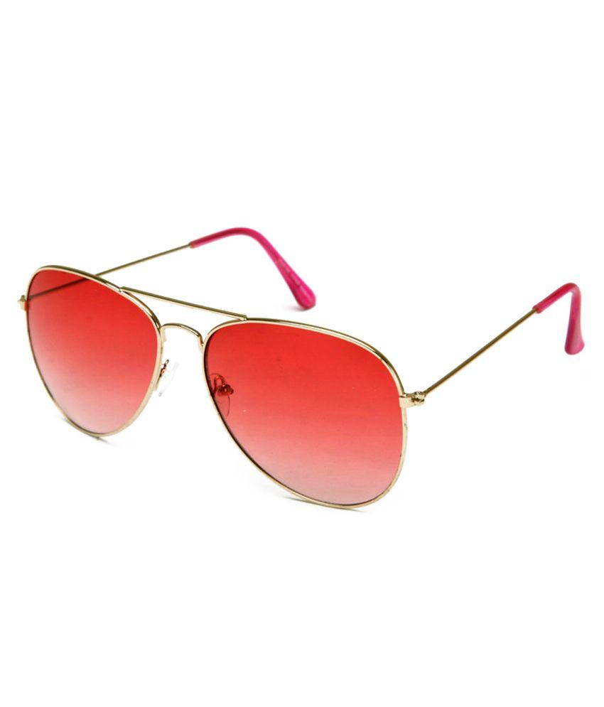 Neolithic B-20018 Golden Metal UV Protected Aviator Sunglasses