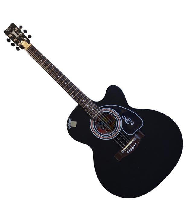 Godson Black Venus Super Special Acoustic Guitar with Free