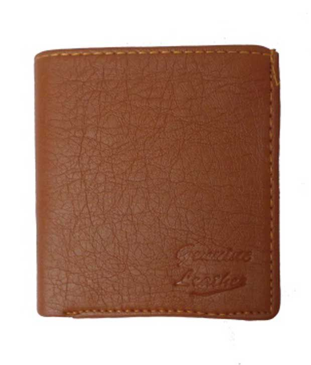 b0c5e85f535 Modish Look Brown Leather Men Regular Wallet available at SnapDeal for  Rs.335