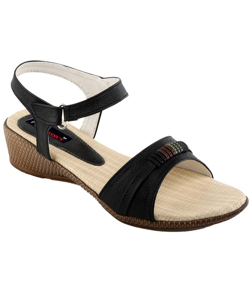 Wonderful Myzo Red Faux Leather Heeled Sandals For Women Price In India Buy