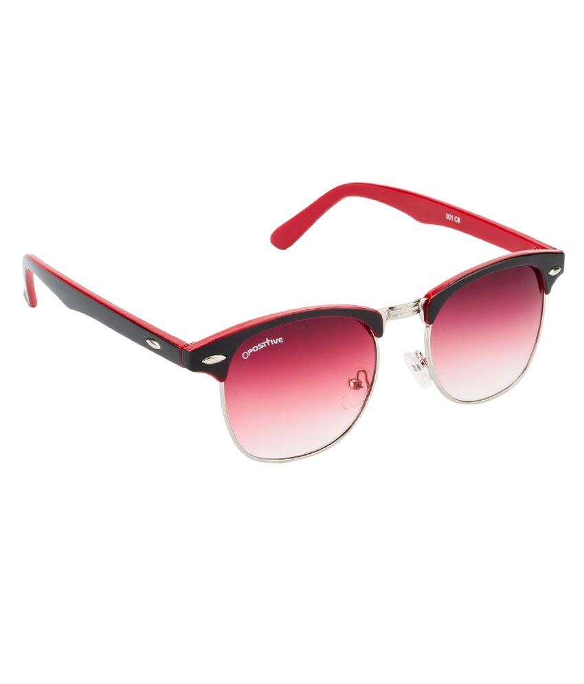 8ecbfc01d8bf ... O Positive black red with red lens club master sunglass for men & women  ...
