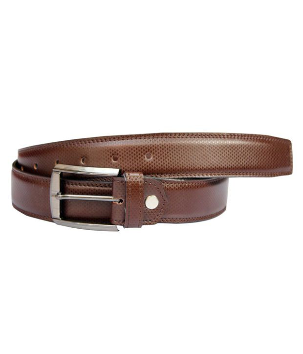 Winsome Deal Brown Artificial Leather Formal Belt