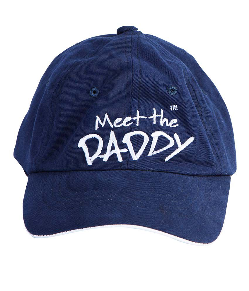 Daddy's Capes Blue Cotton Golf Cap