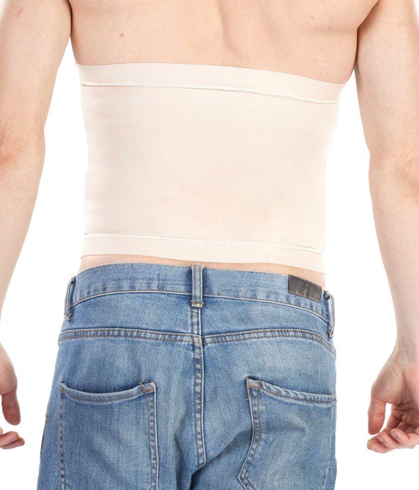 c17bf17eb110 Dermawear Beige & Cream Cotton Blend Tummy Tight - Buy Dermawear ...