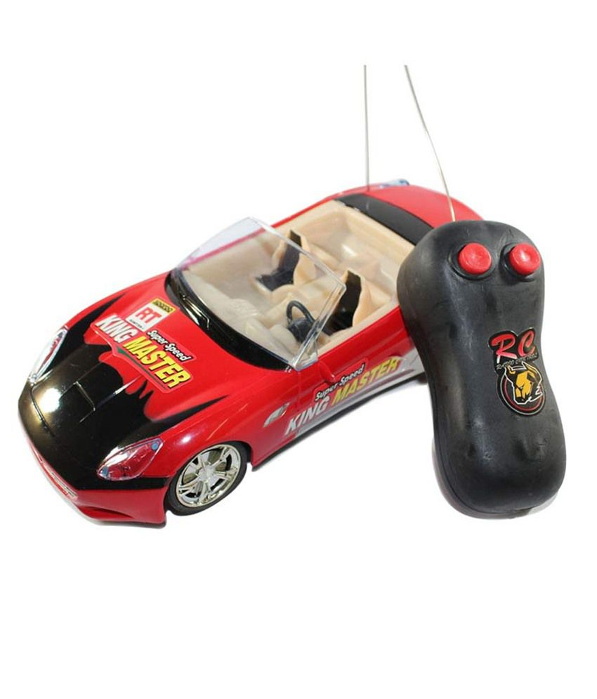 New Pinch New Pinch Multicolour Plastic Racing Remote Control Open Car