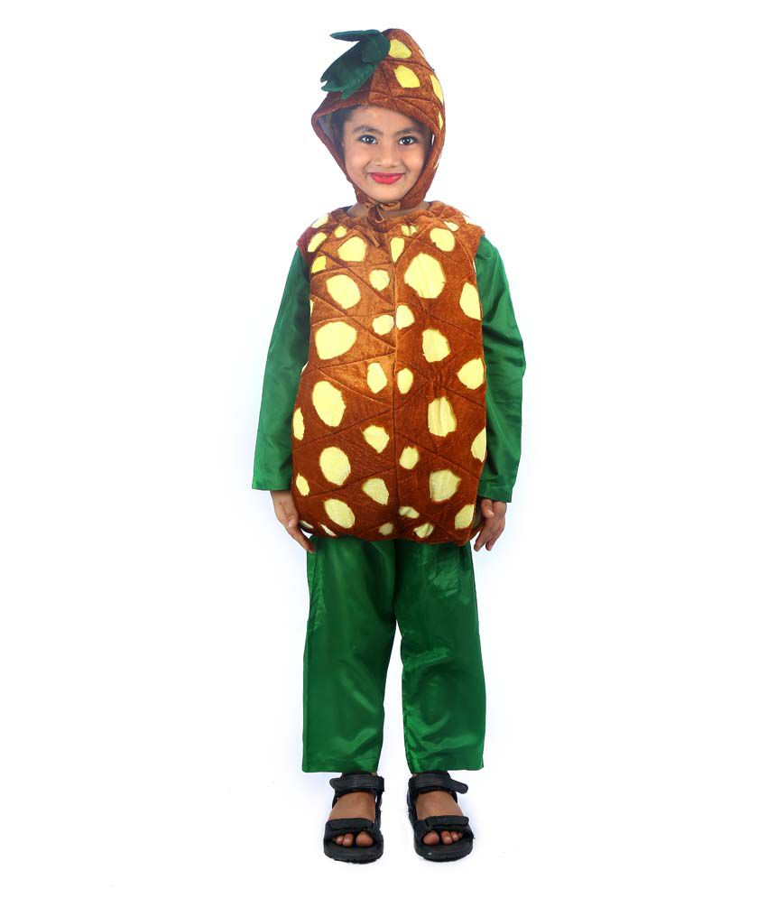 930846eb6fe Pineapple Fruit Fancy Dress Costume For Kids - Buy Pineapple Fruit Fancy  Dress Costume For Kids Online at Low Price - Snapdeal