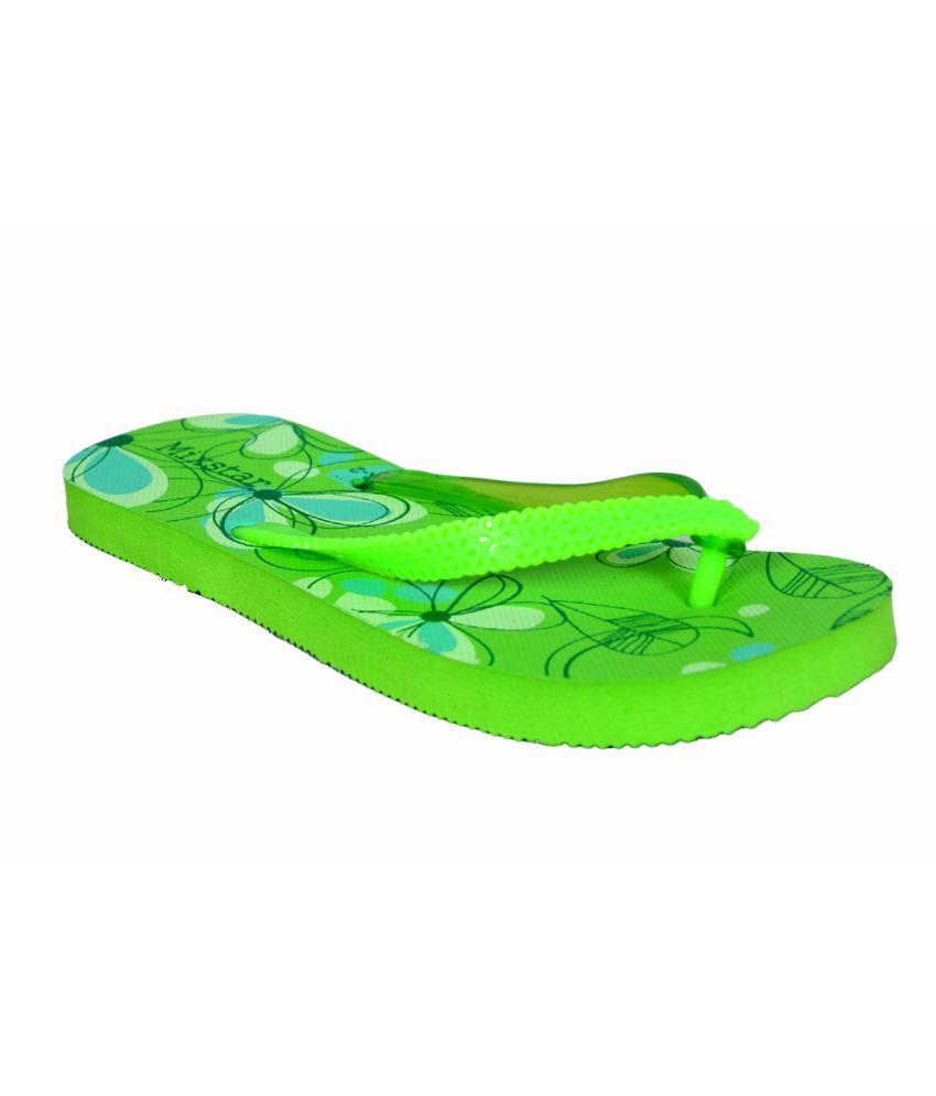 Zurick Green Jelly Flat
