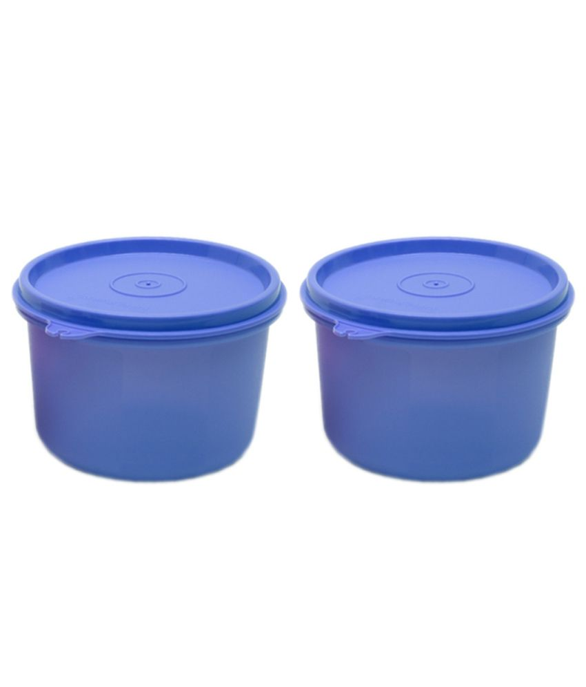 Tupperware Polypropylene Pp 400ml Plastic Containers Set Of 2 Buy