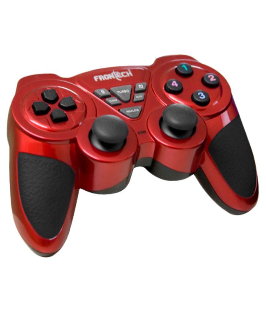 Frontech-Red-Gaming-Pad-Or-Joystick-Jil-1731