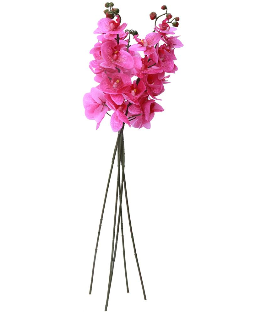 Uberlyfe Real Touch Real Look 7 Artificial Flowers