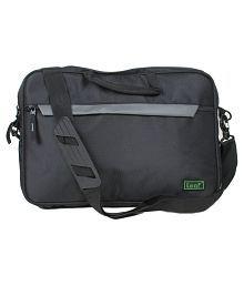 Leaf Black Laptop Bag