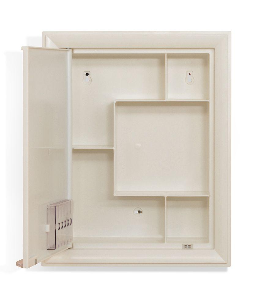 nilkamal mirror cabinet gem ivory buy nilkamal mirror cabinet gem rh snapdeal com