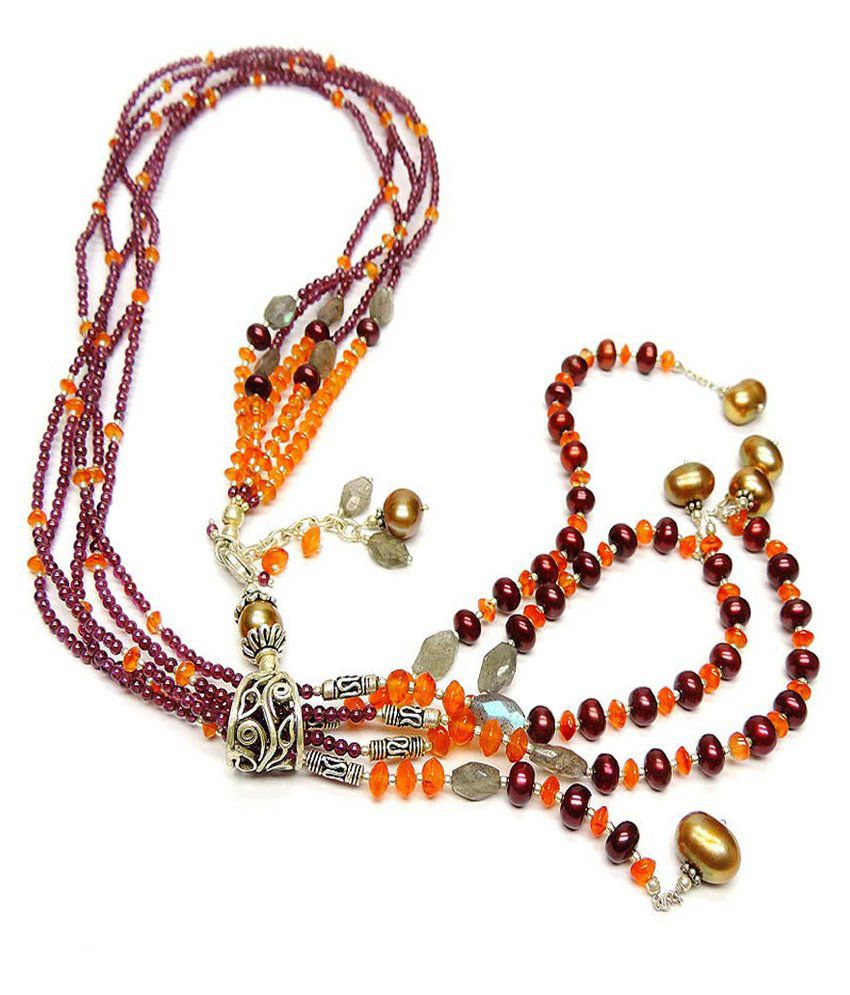 Allnonly Necklaces Carnelian Necklace