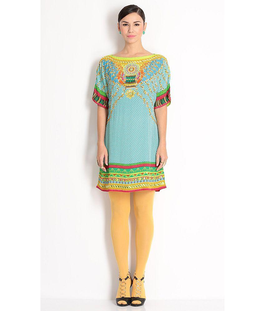 Manish Arora Multi Colour Kurta