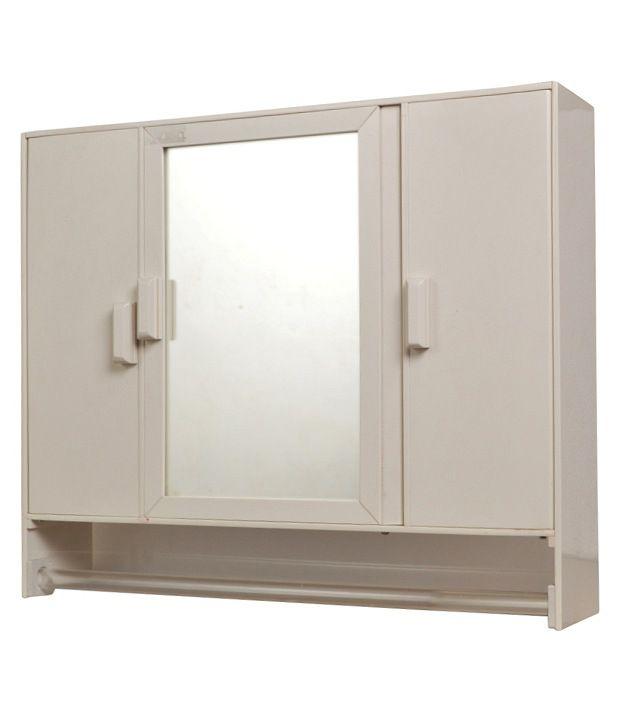 Buy zahab monica three door bathroom cabinet online at low for Zahab bathroom cabinets