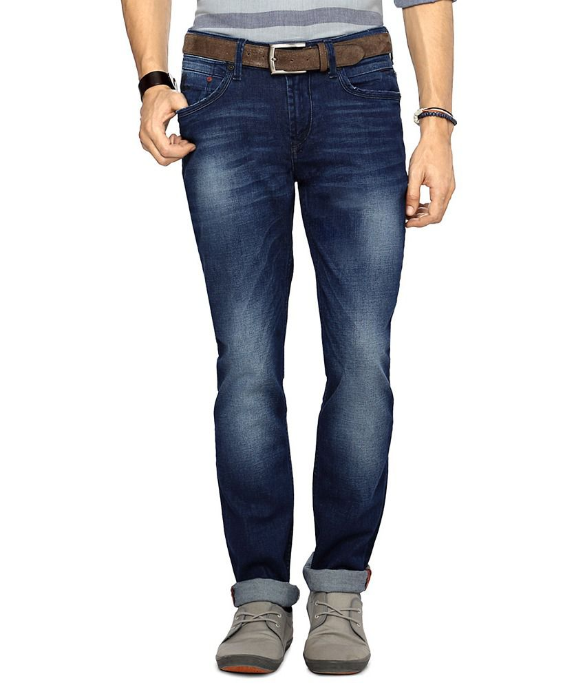 Pantaloons Blue Skinny Fit Jeans
