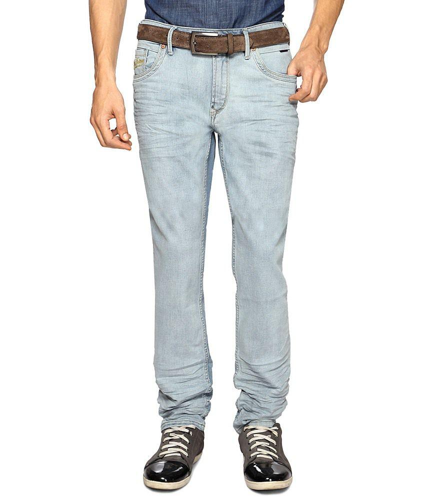 Pantaloons Light Indigo Stretch Jeans