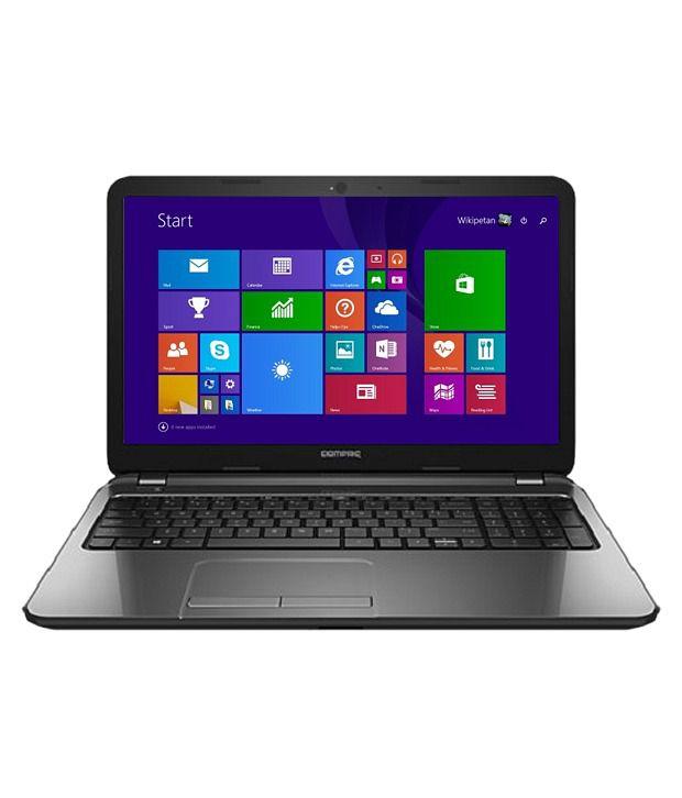 HP Compaq 15-S106TU Notebook (K8T83PA) (4th Gen Intel Core i5- 4GB RAM- 1 TB HDD- 39.62 cm (15.6)- Windows 8.1) (Black)