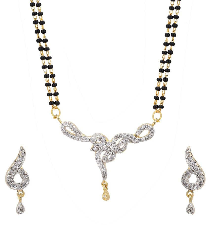 Kiya Golden Alloy Mangalsutra Set