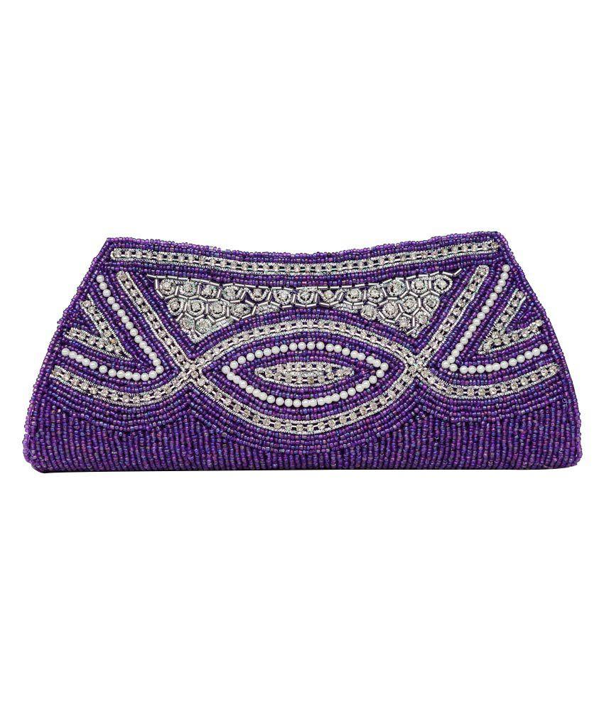 Sol N Sensus Purple Magnit Button Cluth