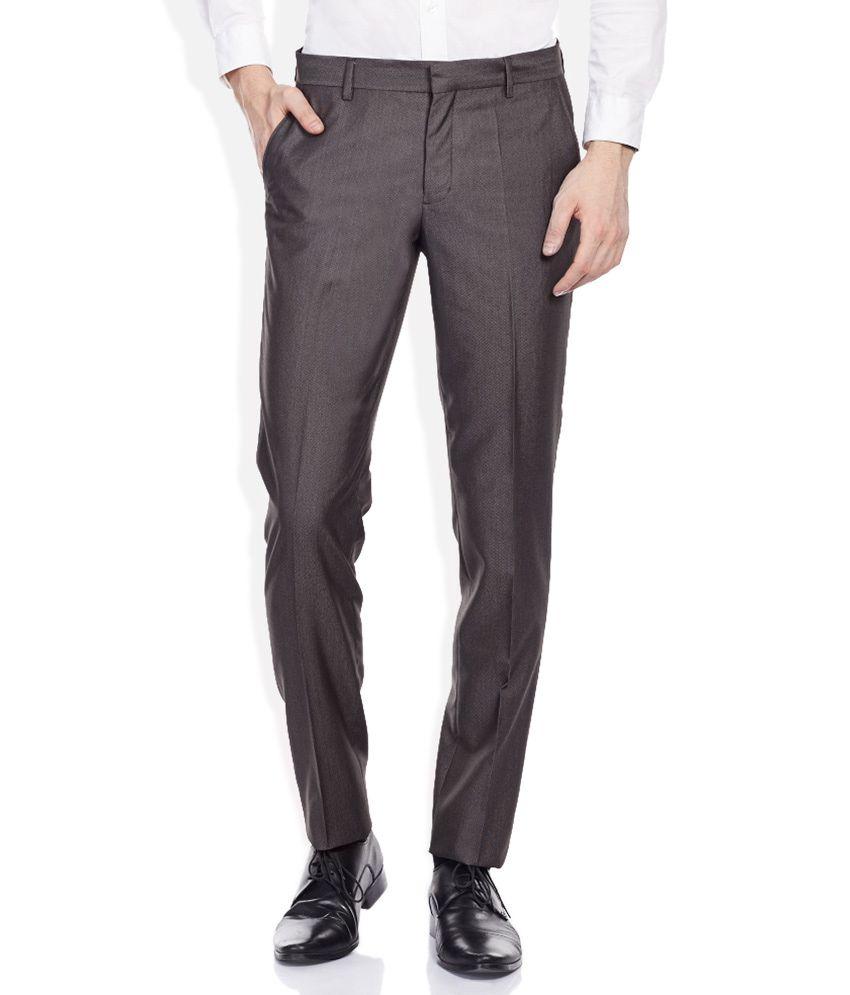 John Players Grey Trousers
