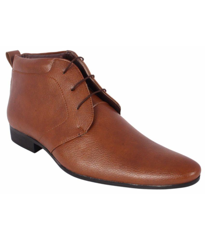 Nyntynyn Tan Formal Shoes