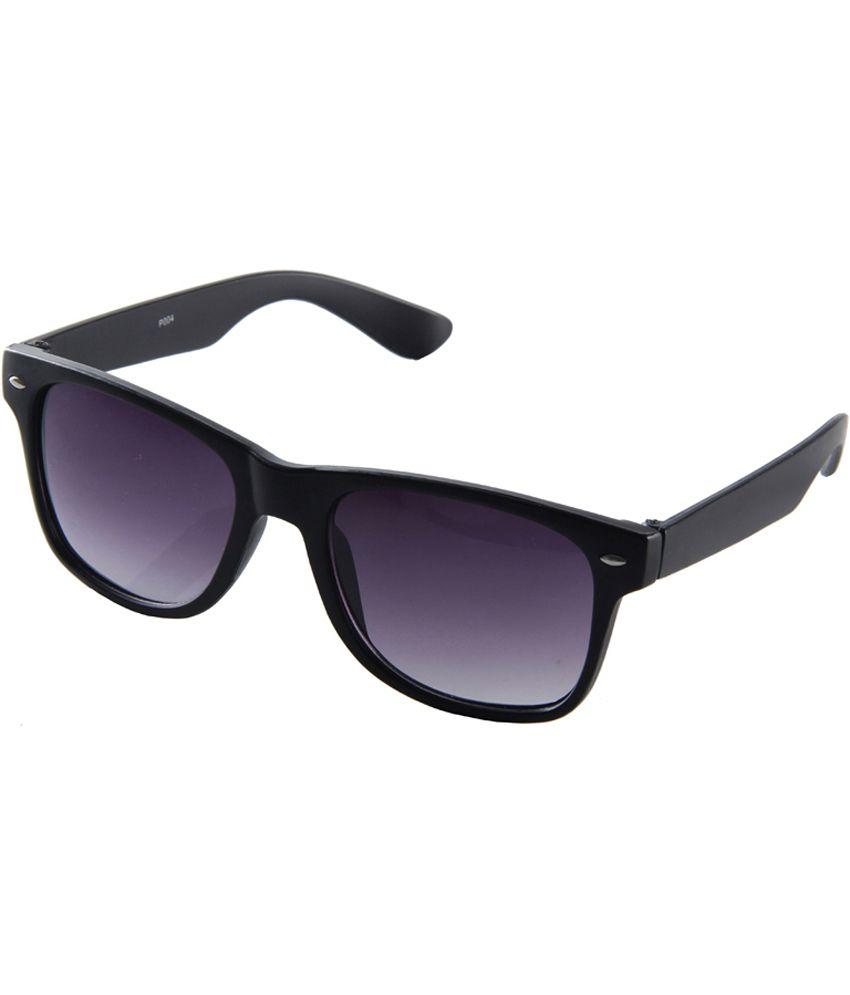 Ragmel Black Stylish Avaitor Sunglasses
