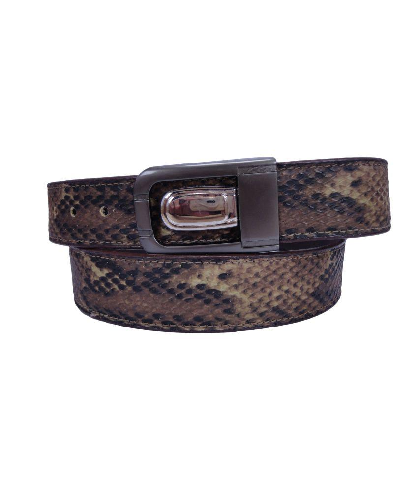 Revo Brown Formal Belt for Men