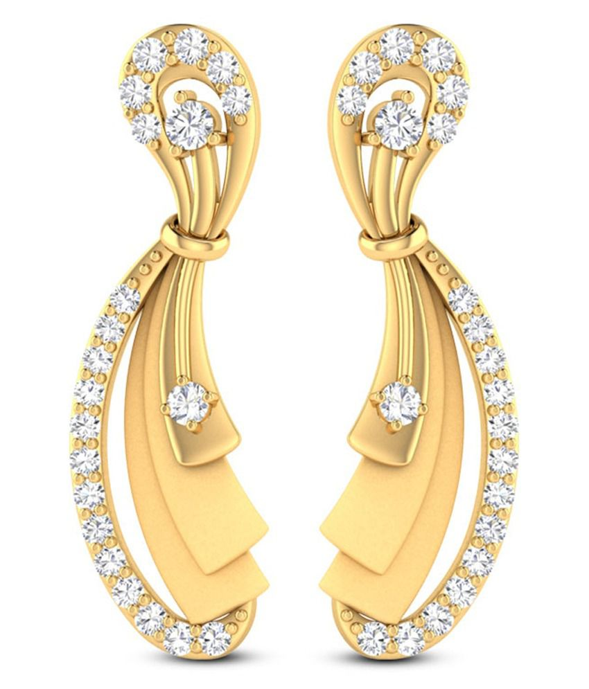 Zaamor Diamonds 22Kt Gold Studs