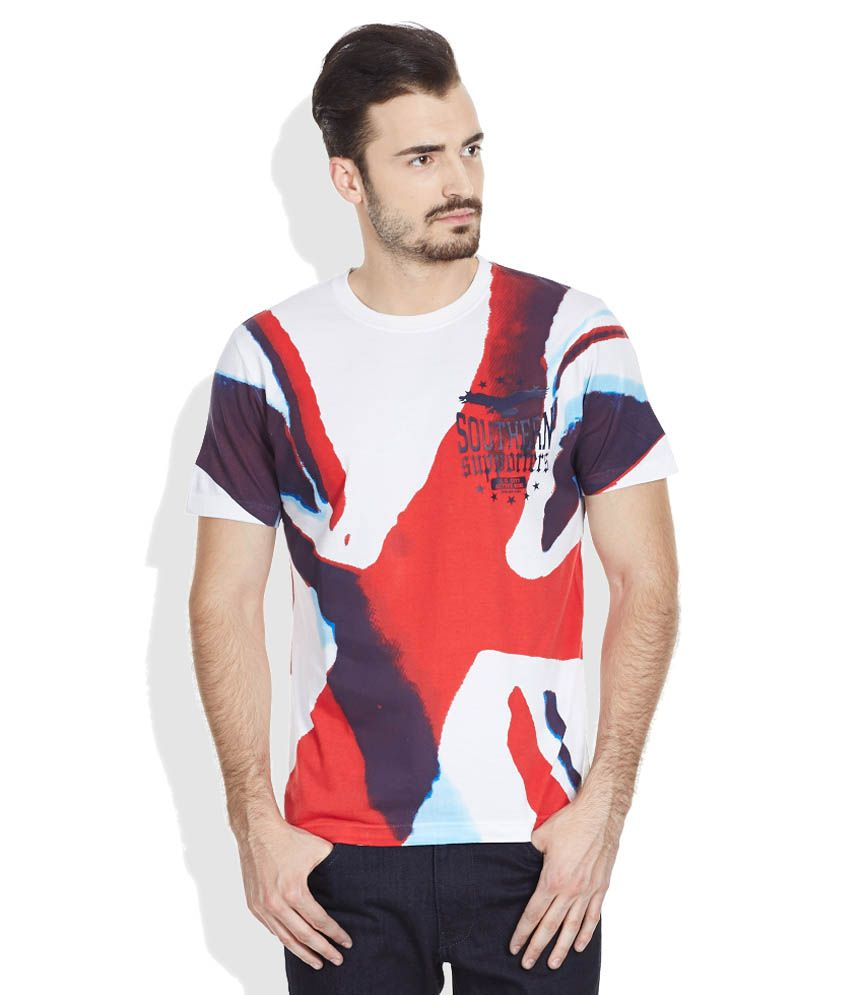 John Players Multi Round Neck T Shirt