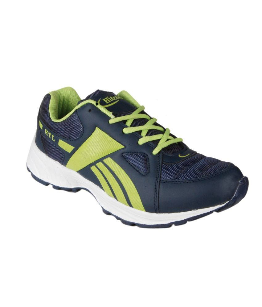hitcolus blue lace synthetic leather sport shoes buy