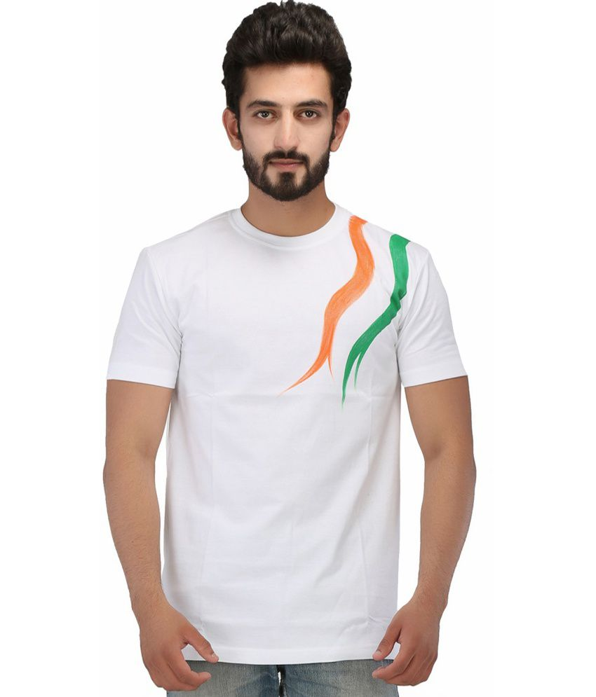 Rang Rage Tricolor T-shirt - Independence Day Special