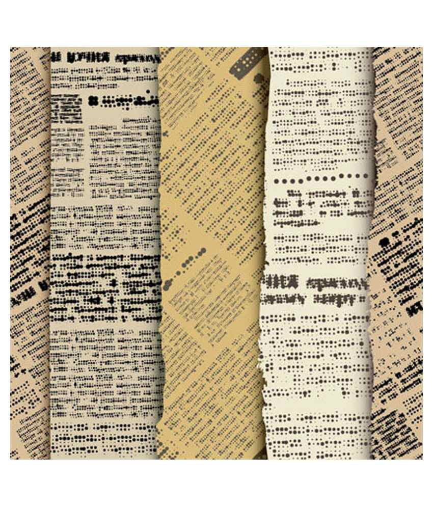 Wall Art Old Newspapers