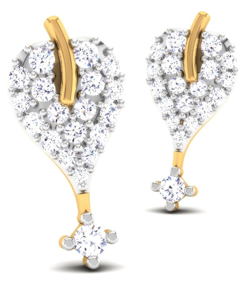 Caratstyle 18Kt Cordate Cluster Earring
