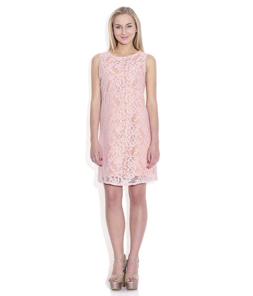 Sepia Pink Cotton Dresses