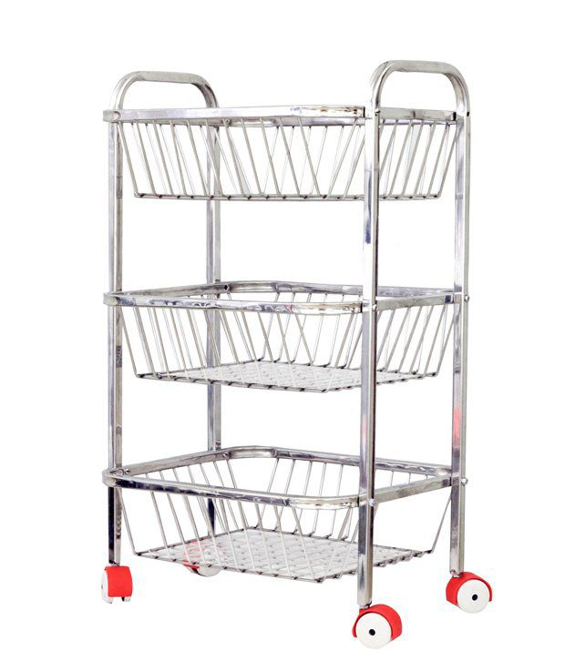 Vpsk Fruit Vegetable Trolley 3 Stand 24 24 Buy Vpsk