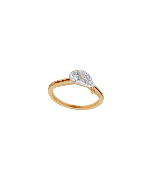 Viola 18Kt IGI Contemporary Ring